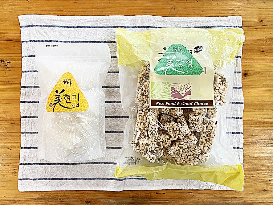 쌀과자와 쌀강정