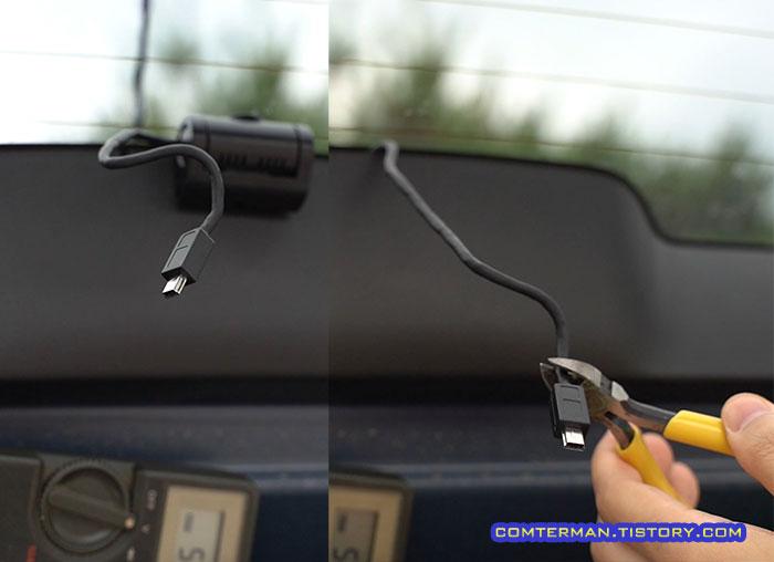 루카스 LK-9300 후방 카메라 케이블