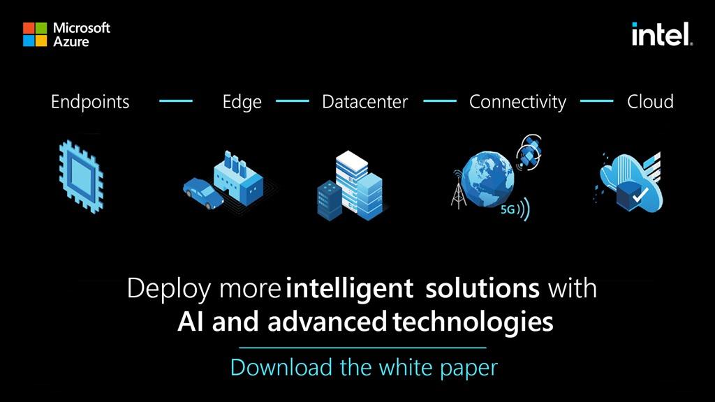 MS, 'AI, 컴퓨터 비전 및 관련 기술이 IoT 솔루션을 확장하는 4가지 방법' 백서 발표