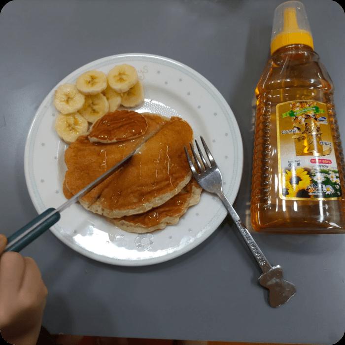 펜케이크-완성-모습