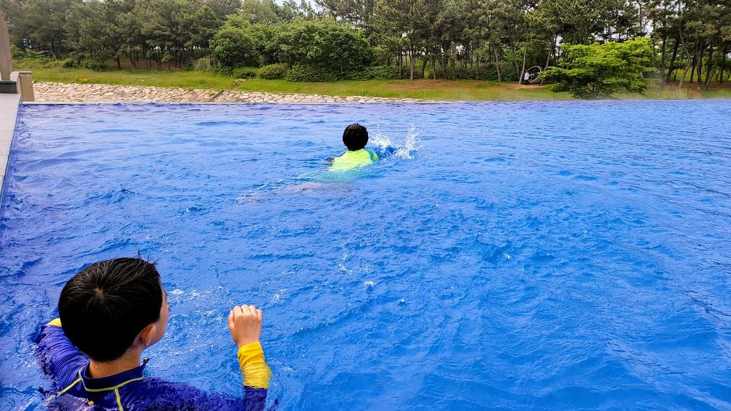 인천 네스트호텔 수영장 리뷰 사진 19