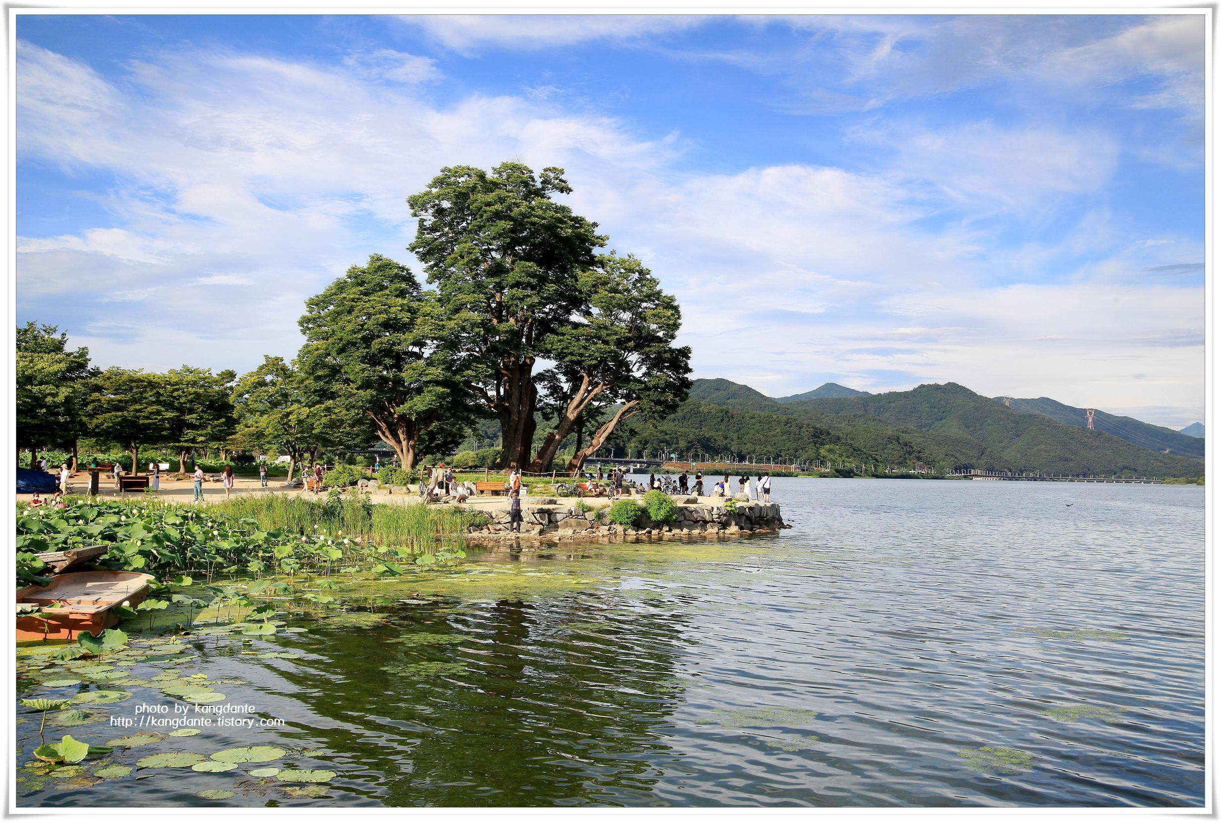 북한강과 남한강이 만나는 양평 두물머리