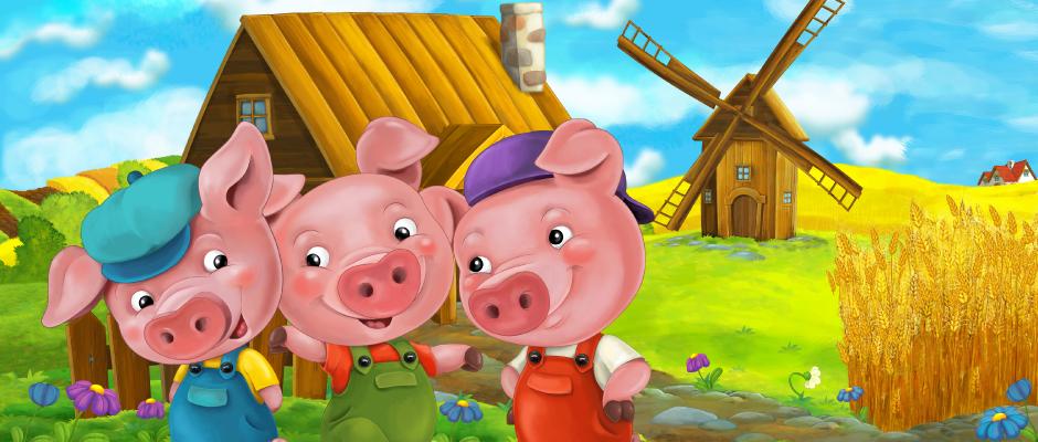 '아기 돼지 삼형제'로 보는 기업보안전략