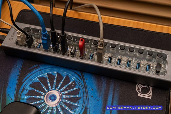 오리코 AT2U3-16AB USB 개별 스위치