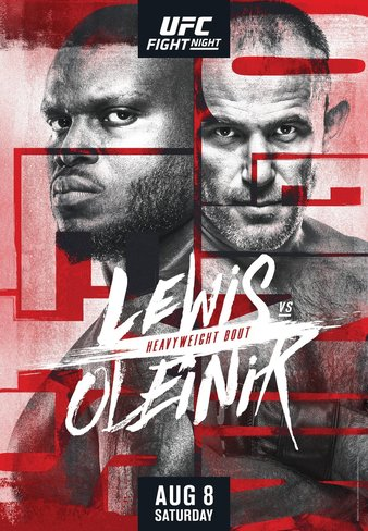 UFC 라스베가스6 루이스 VS 올레이닉 대진표 - 크리스 와이드먼의 운명은?