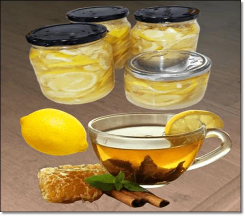 레몬물과 레몬청