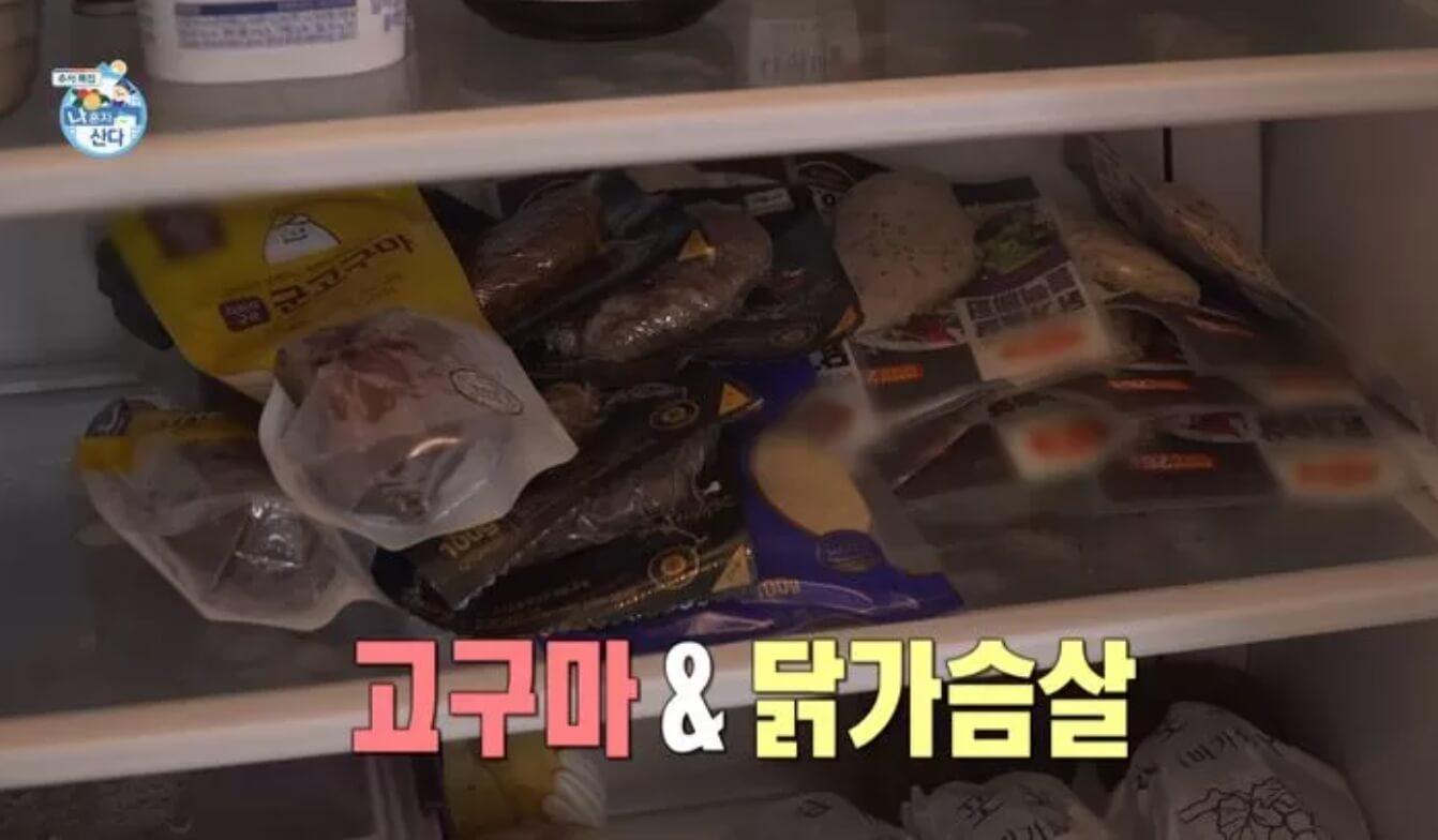 냉장고안에-닭가슴살