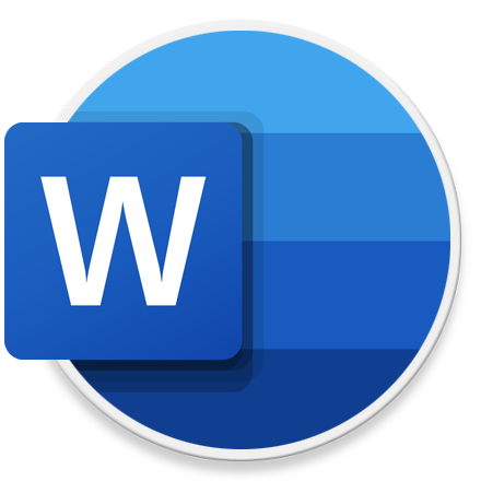 Microsoft Word 로고