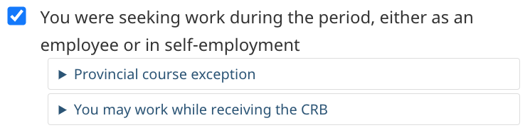CRB 자격조건 Application Requirement 10