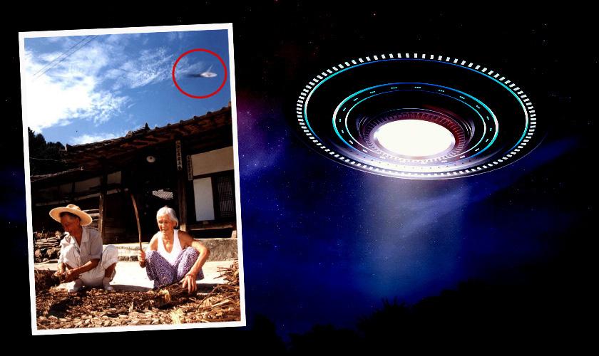 사진기자 카메라에 찍힌 '가평 UFO 출몰' 사건