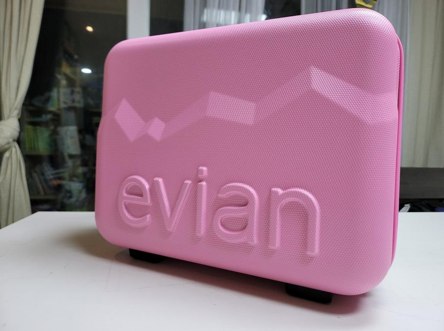 에비앙 핑크백 패키지