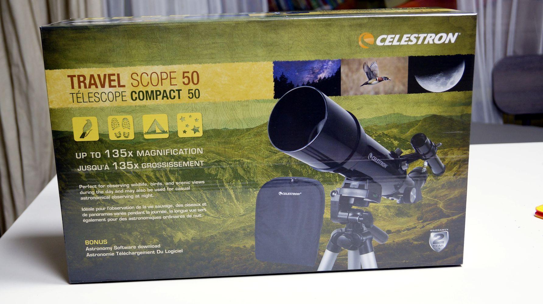 셀레스트론 travel scope 50 천체 망원경으로 달 찍어본 후기