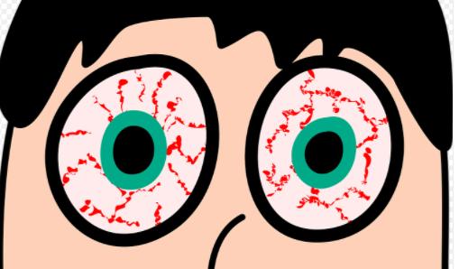 눈충혈그림