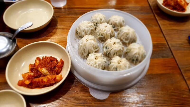 만두와-김치