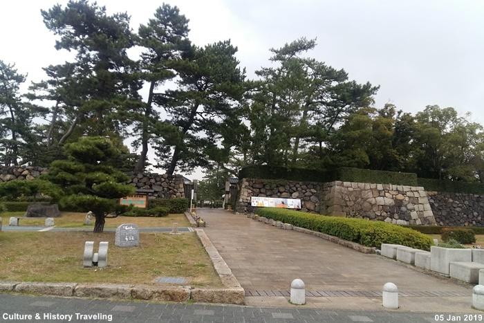 일본 가가와현 다카마쓰성(高松城)