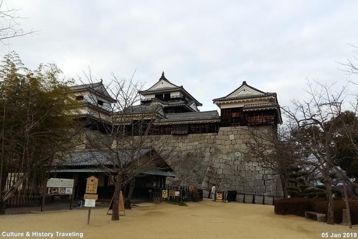 일본 에히메현 마쓰야마성(松山城)