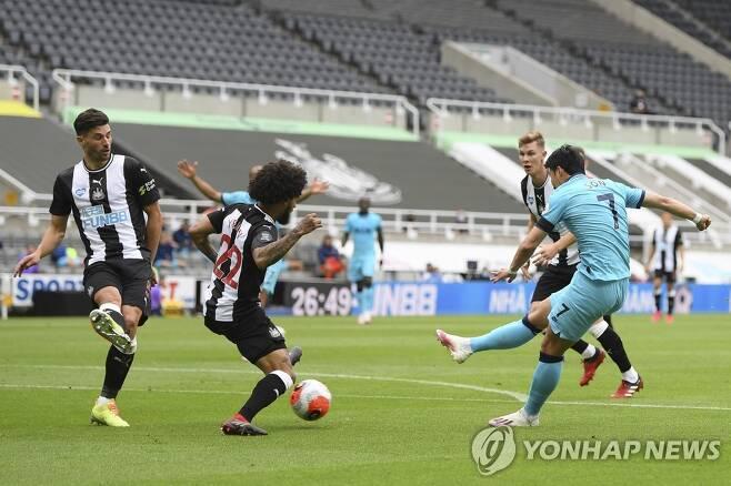 손흥민 11호골 토트넘 유로파 가능성 열었다