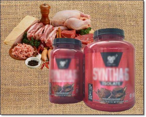 단백질보충제와고기
