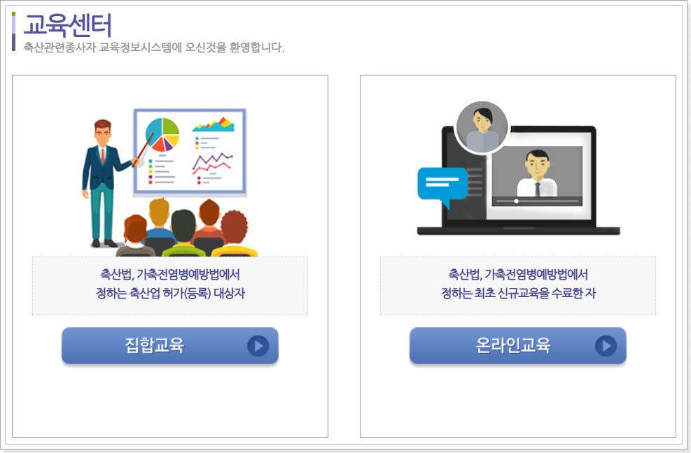 집합교육-온라인교육-선택