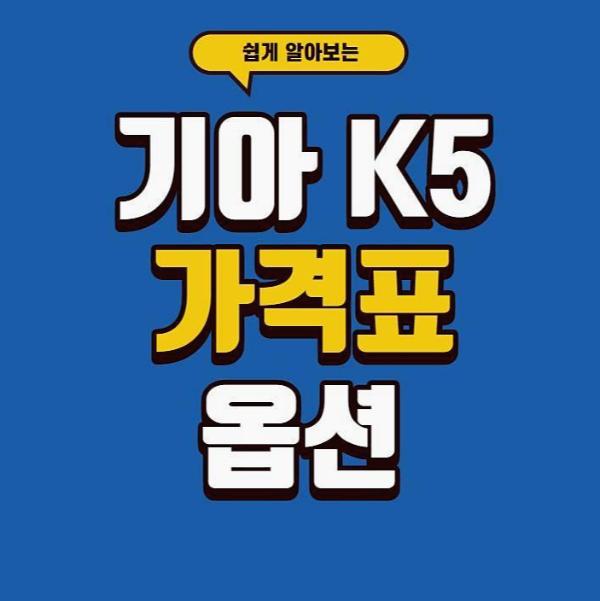 k5 옵션 가격