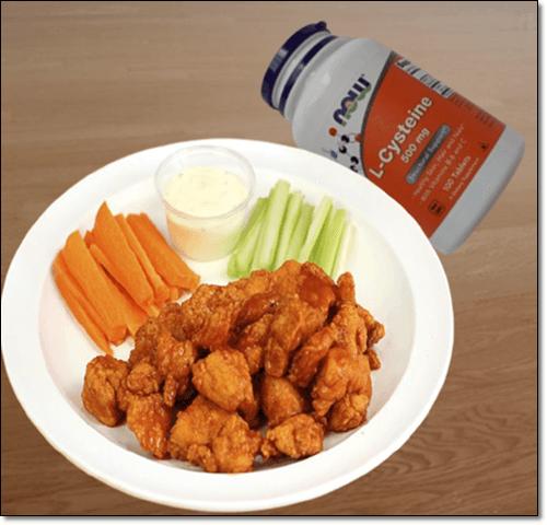 엘시스테인 영양제 음식