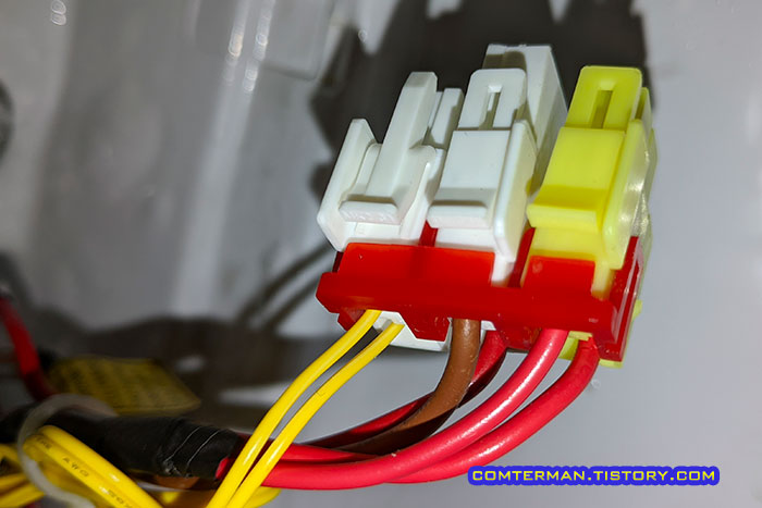 지펠 냉장고 제상센서 커넥터 고정핀