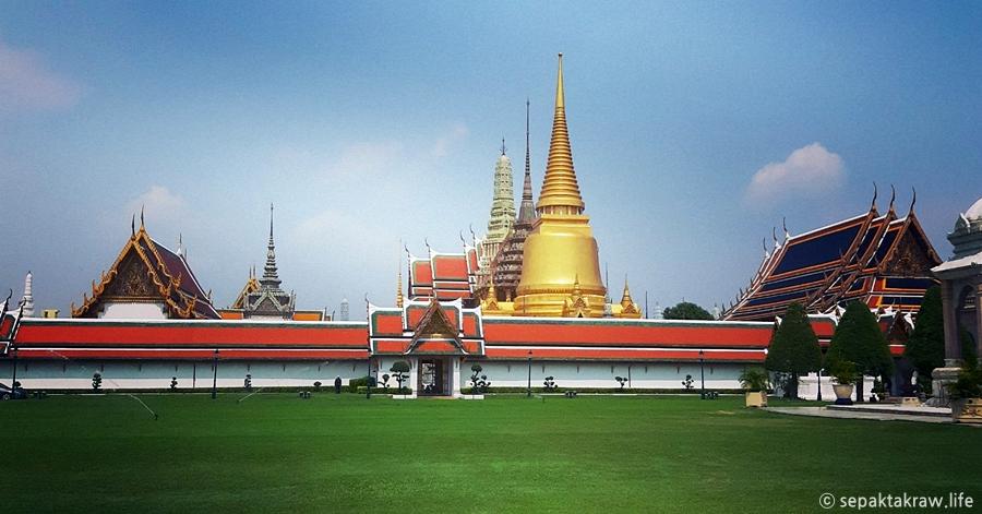 태국의대표적인방콕_왕궁의풍경