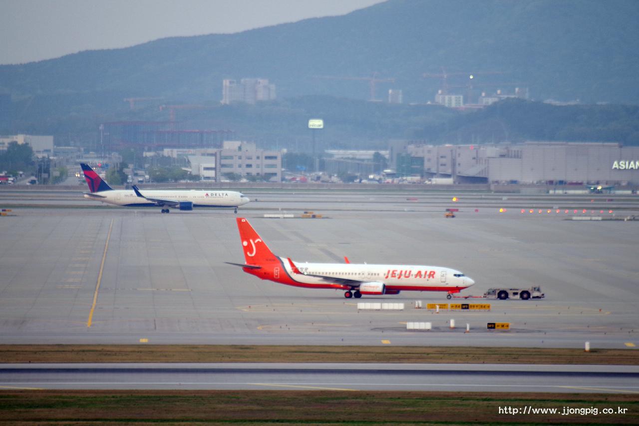 제주항공 Jeju Air 7C JJA 737-800 Boeing 737-800 B738 인천공항 Incheon International 서울 Seoul-Incheon ICN RKSI