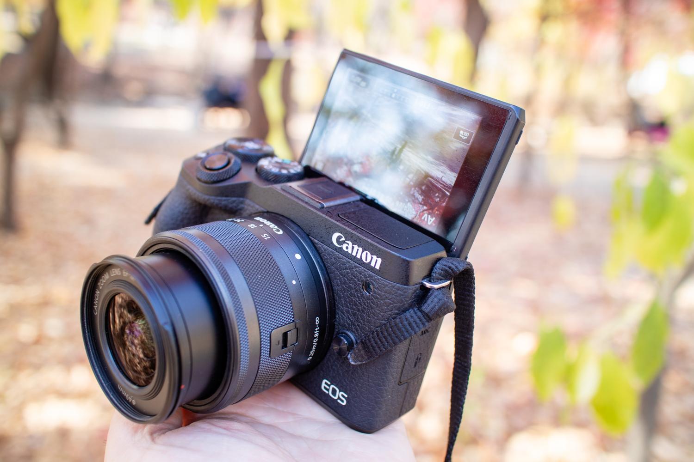 캐논 EOS M6 Mark2가 유튜브 카메라로 좋은 점 3가지와 사진 기능들