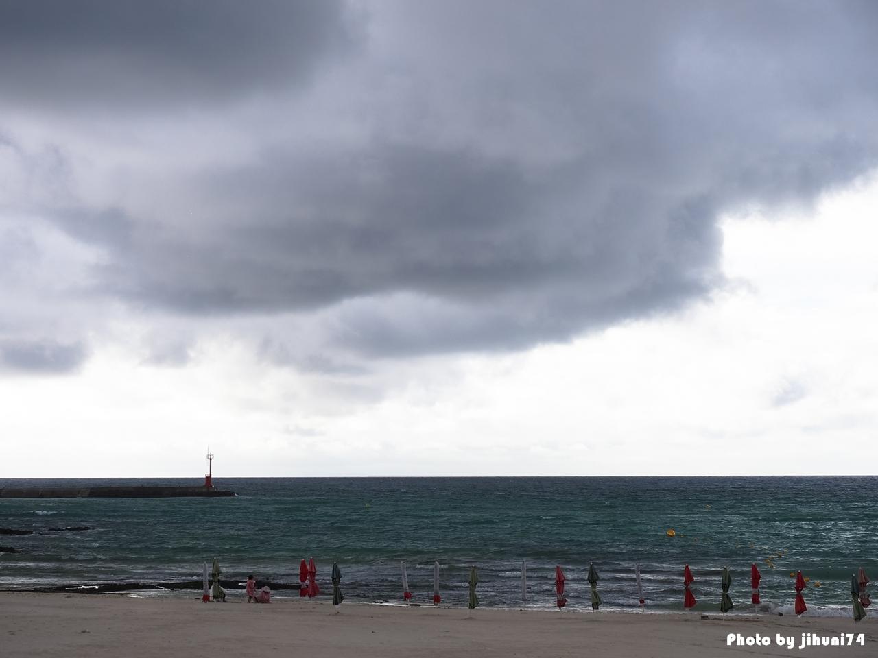 [제주 여행] 구름과 함께 한 북쪽 해안 풍경