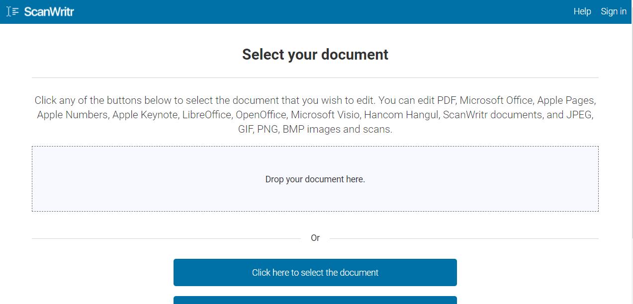 HWP 한글 파일 온라인에서 무료로 편집 3가지 방법 사진6
